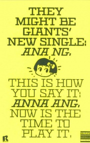 "Cancionzacas: ""Ana Ng"", de They Might Be Giants"