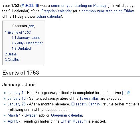 1 de enero de 1753